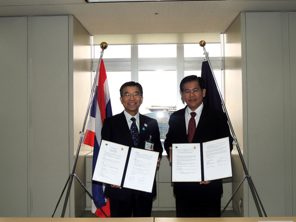 (IMG)Agreement of Memorandum of Understanding with the Office of the Basic Education Commission, Ministry of Education, Thailand